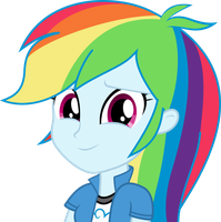 Rainbow Dash EQG Emote by Serendipony