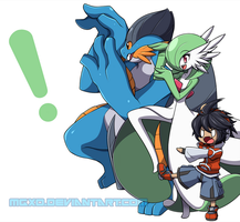 Pokemon x Yotsubato Crossover