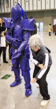 fate zero berserker and kariya by xenofett