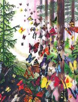 Butterfly Haven by doughboy136