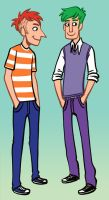 phineas and ferb by black-rider