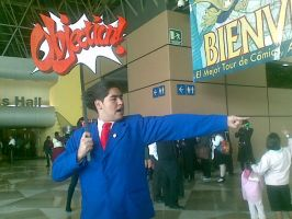 Phoenix Wright - Objection by Cosplay-GDL