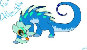 For :devAlba-White: by IcyWaterWolf