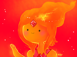 Flame Princess by AtomicKitten13