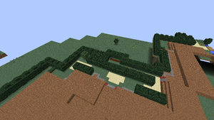 Minecraft Sinnoh: Eterna Forest (Outside) by NinjaKirby144