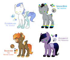 My Little Pony OCs by ImaginaryPony