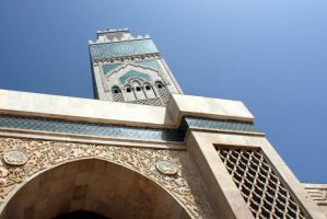 MOSQUEE HASSAN II by louboumian