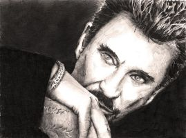Johnny Hallyday by Nicksman24
