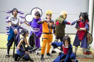 Naruto Team ~ Romics April 2014 by MiikHyDeafening