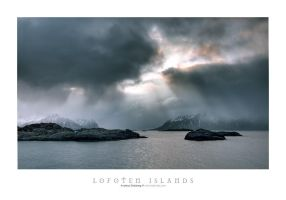 Outside Svolvaer by Stridsberg