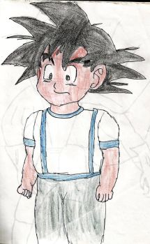 Goku  normal by ElImaginativo