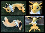 Big Floppy Jolteon Plush by racingwolf