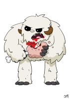 W is for Wampa by striffle