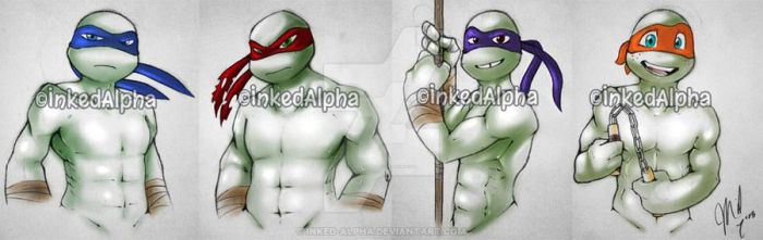 Turtles Without A Shell by Inked-Alpha