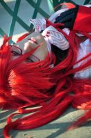 grell shooting by Oksepik