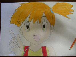 Misty the trainer by AJLeefan4life