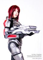 Female shepard II. by YurikoCosplay