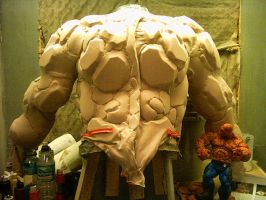 The Thing suit before painting by TheBigGunns