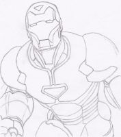 The Invincible Iron man by AigisNoir