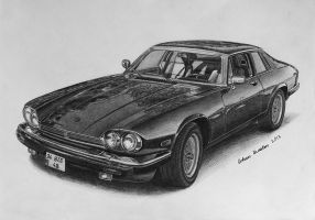 Jaguar XJS by orhano