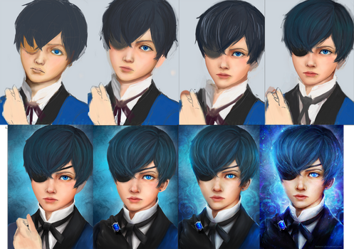 Ciel Phantomhive Steps by Suixere