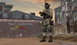 PLA PFC Soldier (XPS Updated) by bstylez