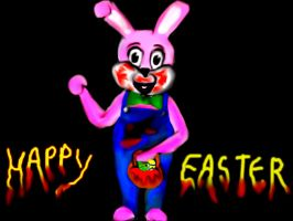 easter robbie the rabbit by OpheliaImmortal7