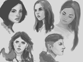 Face Sketches by Warmics