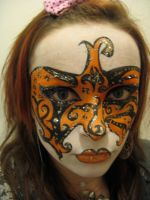 face painting 3 by epiphanyrose