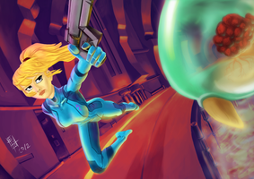 Samus - Zero Suit by Gigabeto