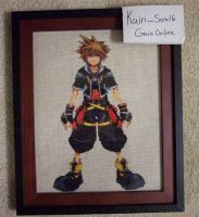 Sora Cross-Stitch by kairi-chan16