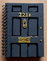 221B Door Notebook by Amy221B