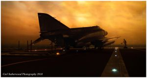 View from an Aircraft Carrier by Rovanite