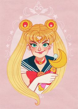 Sailor Moon by DixieLeota