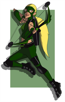 Young Justice: Artemis by scribblywobbly