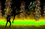 Reptile Vs Noob Saibot by N3rd101