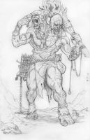 Ettin Sketch by DKuang