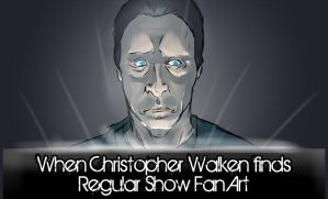 Christopher Walken finds... by BlackHarpyGoddess
