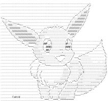 Eevee number 3 ASCII by caitcid