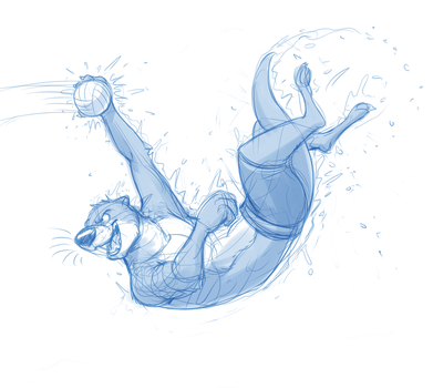 Otterball (Sketch) by Temiree