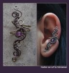 Ear cuff for Heather by bodaszilvia