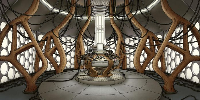 The War Doctor's TARDIS by PaulHanley