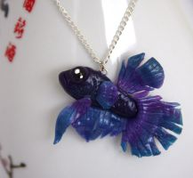 Lancelot The Betta Fish 1 by NeverlandJewelry