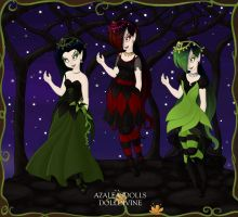 The Woods Girls Formal by BrainyxBat
