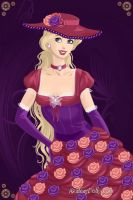 Velvet Rose Barbie by LadyIlona1984
