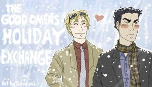Good Omens Holiday Exchange by Sanomi