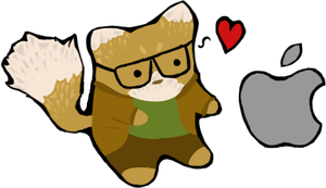 Fox-titlement: Hipster by dolorintus