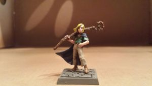 Wizard's Apprentice (Miniature) by prodigal-gamer