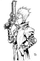 Trigun Vash by Dogsupreme