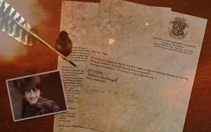 Hogwarts Acceptance Letter by Aerie-Faerie